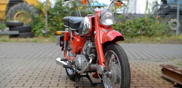 Honda CA 92, Honda C 92