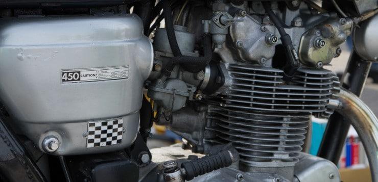 Honda CB 450 Black Bomber