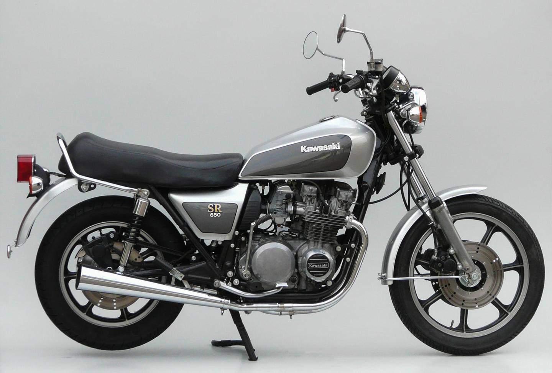 Der Auspuff Kawasaki Z 650 SR War Sichtbar Kurzer Quelle Peter Krauss Club Germany