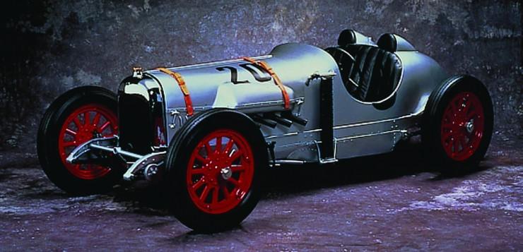 Soichiro Hondas Curtiss Rennwagen