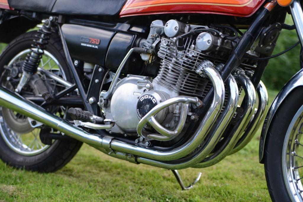 Suzuki GS 750 Motor