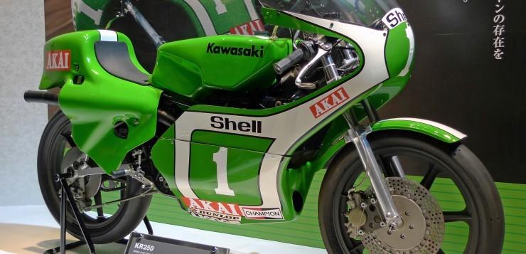 Kawasaki KR 250 und Toni Mang
