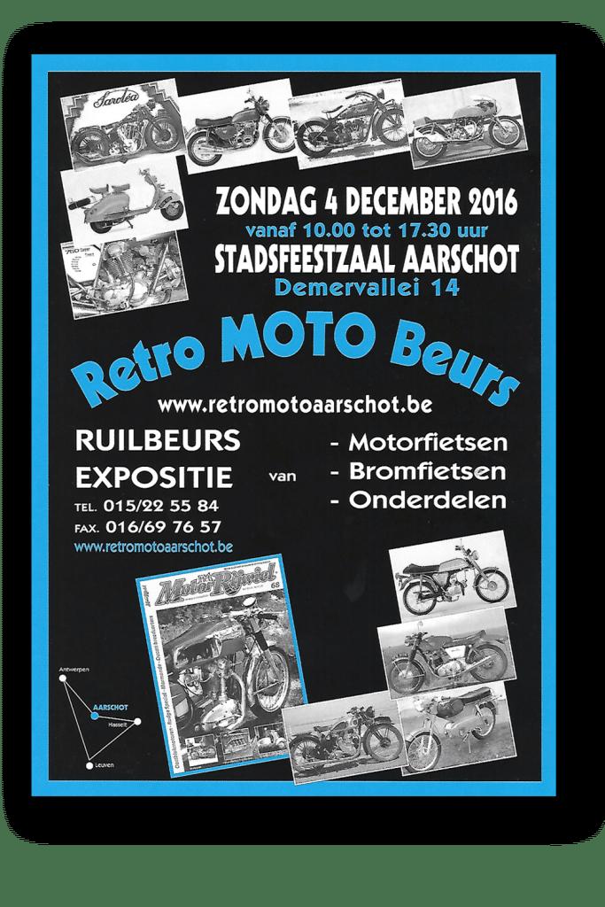 RETRO MOTO Aarschot 2016