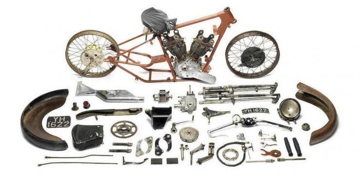 Brough Superior SS 100 Alpine Grand Sport Project (1927)