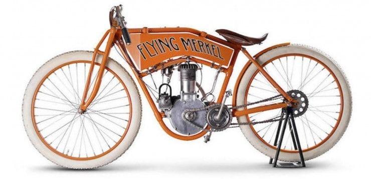 Oldtimer Motorräder: Flying Merkel