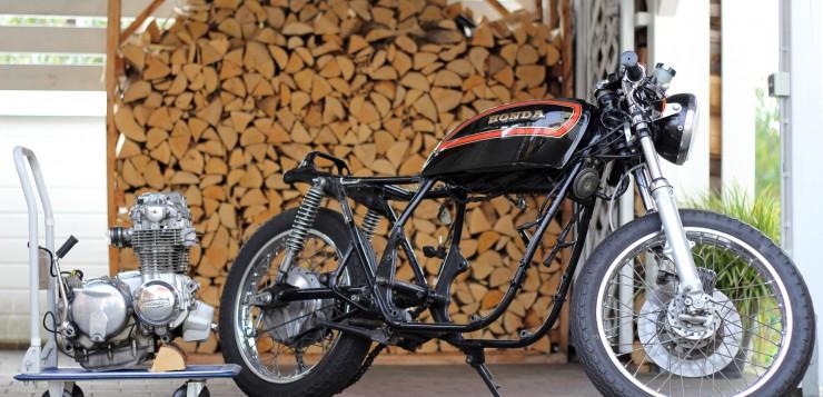 Honda CB 550 K3 Motor
