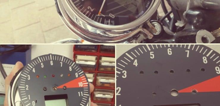 Honda CB 550 K3 Drehzahlmesser