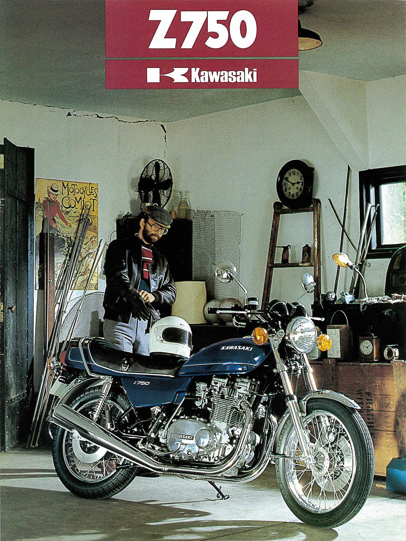 Kawasaki Z750 Prospekt