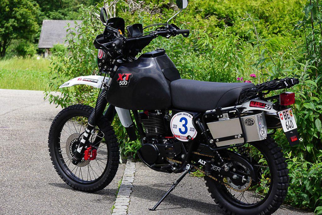 "Yamaha XT 500 ""Around the Baltic Sea"""
