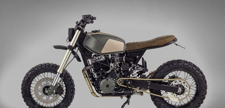 Honda 650 Muxima