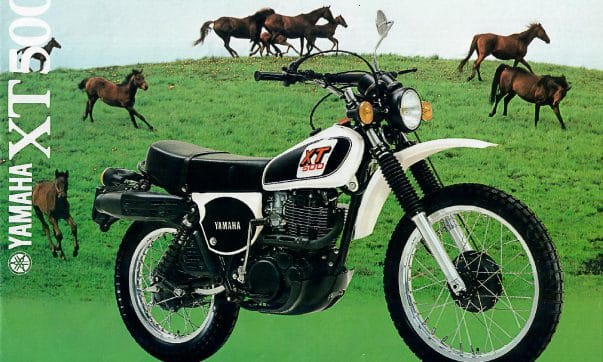 Yamaha XT 500 Prospekt 1979
