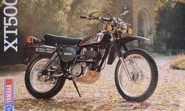 Yamaha XT 500 Prospekt 1989