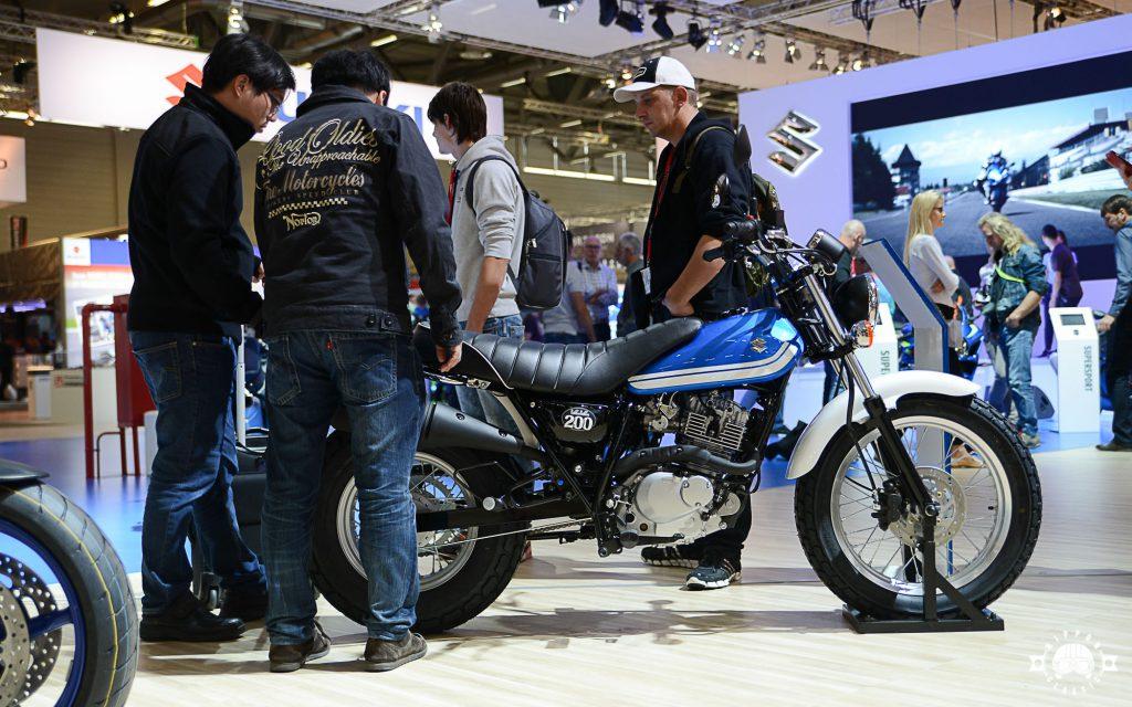 Die VanVan 200 kam im Frühjahr auf den Markt und erinnert stark an die RV125 (Quelle: Nippon-Classic.de)