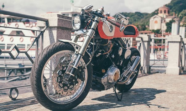 Yamaha XV 750 Orange Projekt