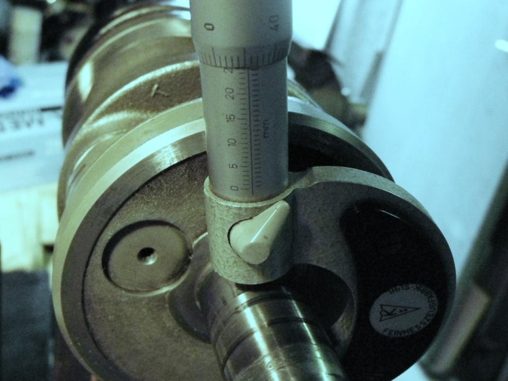 Yamaha RD Kurbelwelle