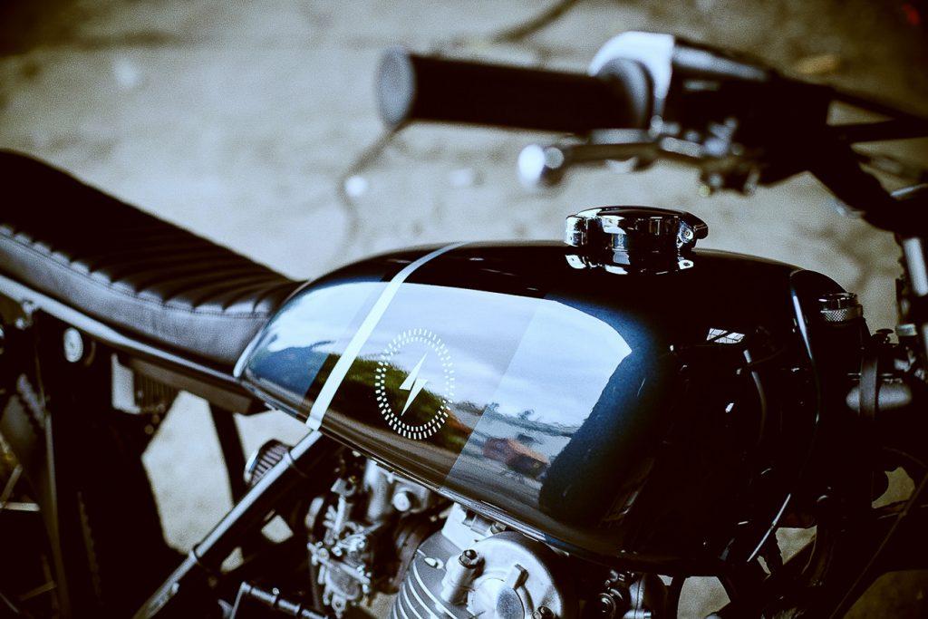 Yamaha SR 500 Scrambler