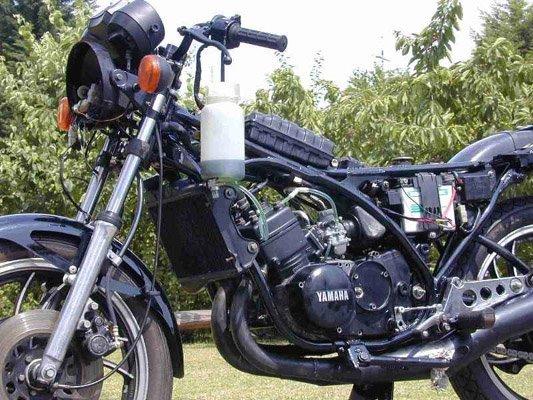 Yamaha RD Restaurierung