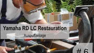 Yamaha RD 350 LC Restauration