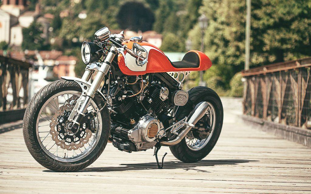 Yamaha XV 750 The Orange