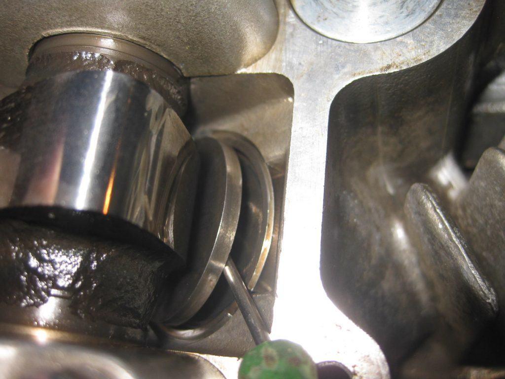 Z750 Ventilspiel einstellen