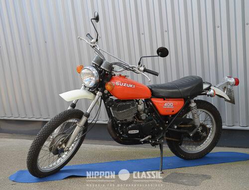 Suzuki TS 400 Apache – Häuptling der Zweitaktenduros